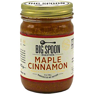 Big Spoon Roasters Maple Cinnamon Peanut & Pecan Butter, 13 oz