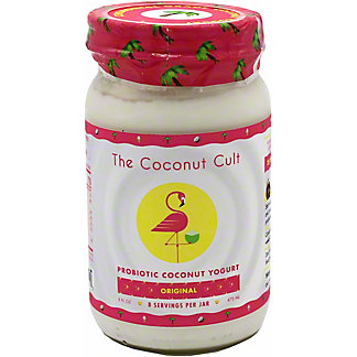 The Coconut Cult The Coconut Cult Yogurt Coconut Original Probiotic, 8 oz