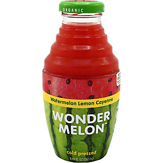 Wondermelon Wondermelon Juice Watermelon Lemon Cayenne, 8.45 oz