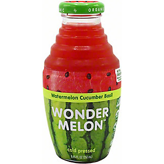Wonder melon Wondermelon Juice Watermelon Cucumber Basil, 8.45 oz