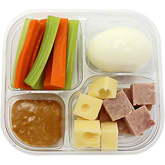 Chef Prepared Ham Snack Pack, ea