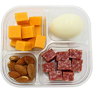Chef Prepared Salami Snack Pack, ea