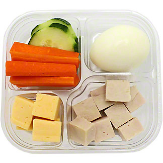 Chef Prepared Turkey Snack Pack, ea