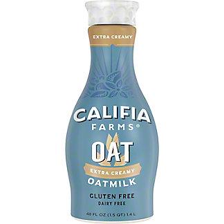 Califia Farms Unsweetened Oat Milk, 48 oz