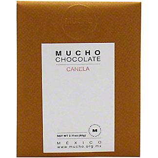 Mucho Chocolate Milk Chocolate W/ Cinnamon 35% Cocoa, 2.11 oz