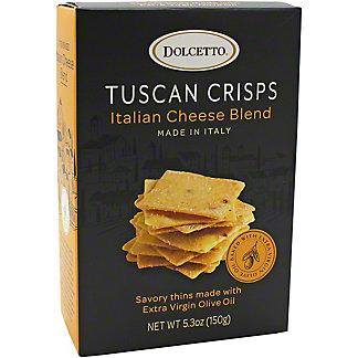Fusion Gourmet DolcettoItalian Cheese Blend Tuscan Crisps, 5.3 oz