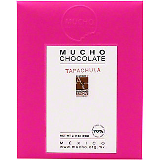 Mucho Chocolate Dark Chocolate Tapachula 70% Cacao, 2.11 oz