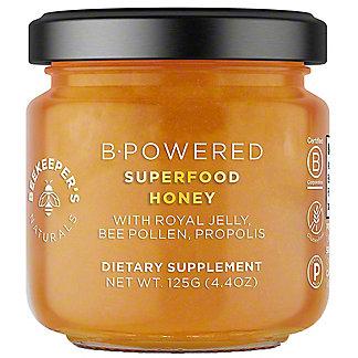 Beekeepers Naturals B Powered Superfood Honey, 125 gr