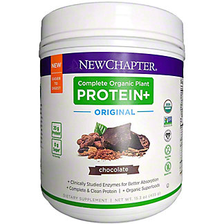 New Chapter Vegan Protein Blend Non Pea Protein Source, 15.3 oz