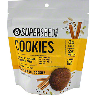 Superseed Well Snickerdoodle Cookies, 3 oz
