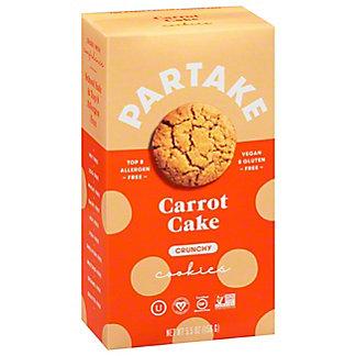 Partake Foods Carrot Oat Mini Cookie, 5.5 oz