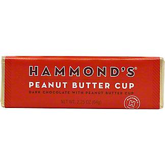 Hammonds Peanut Butter Cup Dark Chocolate Bar, 2.25 oz