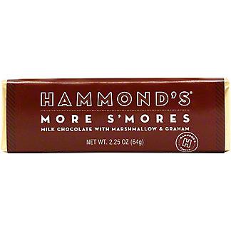 Hammond's More S'mores Milk Chocolate Bar, 2.25 oz