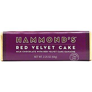 Hammond's Red Velvet Cake Milk Chocolate Bar, 2.25 oz