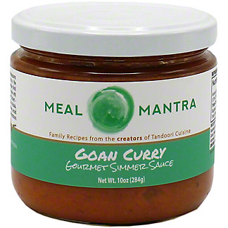 Meal Mantra Goan Curry Simmer Sauce , 10 oz