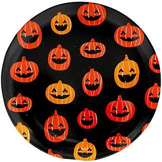 Tag Pumpkin Plate, EACH