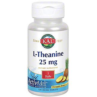 Kal L-theanine Activmelt, 120 ct