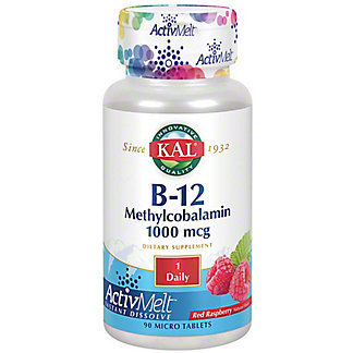 Kal B-12 Methylcobalamin, 90 ct