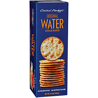 Central Market Original Water Crackers, 5.3 oz