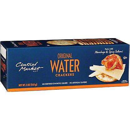 Central Market Original Water Crackers, 5.3 oz
