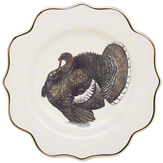 Tag Archival Turkey Appetizer Plate, ea