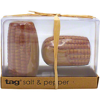 Tag Heirloom Corn Salt And Pepper Shaker Set, ea