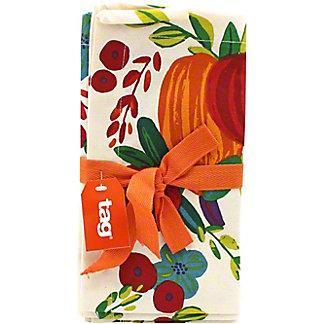 Tag Harvest Pumpkin Napkin Set Of 4, 4 ct