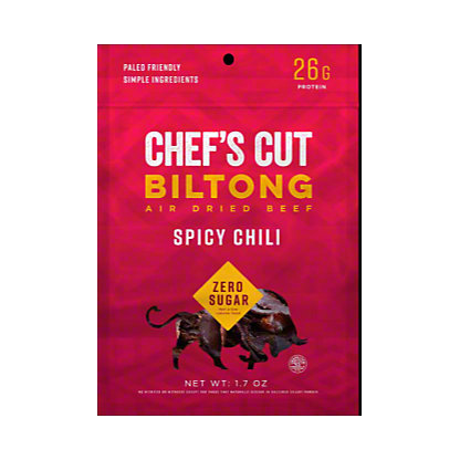 Chefs Cut Biltong Beef Spicy Chili, 1.7 oz