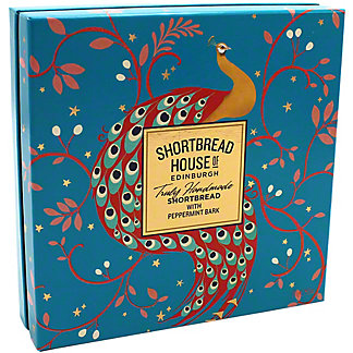 Shortbread House Of Edinburgh Shortbread With Peppermint Bark Box, 8.5 oz