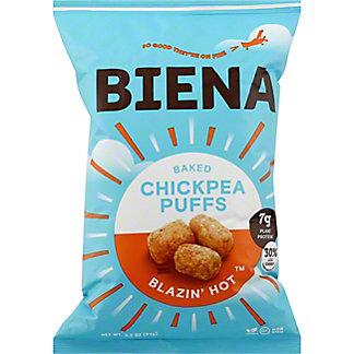 Biena Blazin Hot Chickpea Puffs, 3.2 oz
