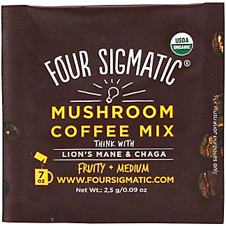 Four Sigmatic Mushroom Coffee With Lion's Mane & Chaga Packet , .09 oz