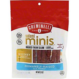 Creminelli Salami Minis Whiskey, 2.6 oz
