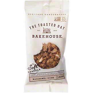 The Toasted Oat Bakehouse Macadamia Chunk Soft Granola, 1.75 oz