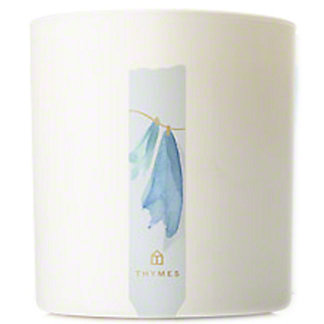 Thymes Washed Linen Poured Candle, 8 oz