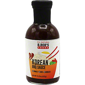 B. Bobs Korean BBQ Sauce, 15.25 oz