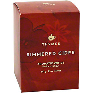 Thymes Simmered Cider Votive Candle, 2 oz