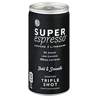 Kitu Super Espresso Triple Shot Enhanced Espresso, 6 fl oz