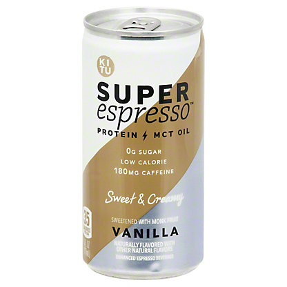 Kitu Vanilla Super Espresso Beverage, 6 oz