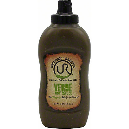 Underwood Ranches Verde Hot Sauce, 16 oz