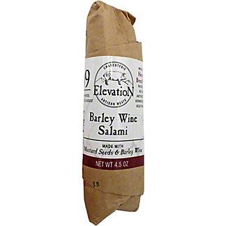 Elevation Charcuterie Barley Wine Salami, 4.5 oz