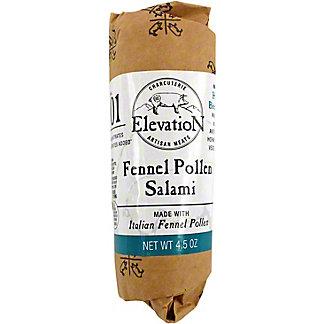 Elevation Charcuterie Fennel Pollen Salami, 4.5 oz