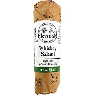 Elevation Charcuterie Whiskey Salami, 4.5 oz