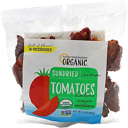 Mediterranean Organic Sun Dried Tomatoes Bag, 3 oz
