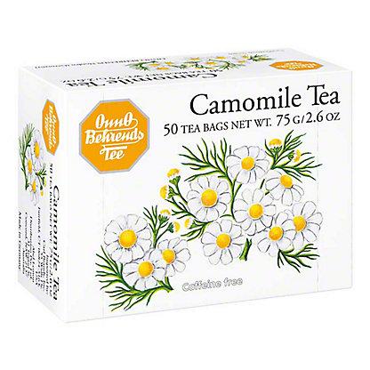 Onno Behrends Tea Chamomile, 50 ct