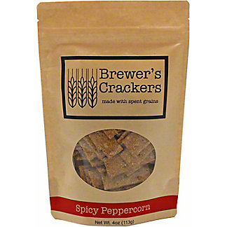Brewer's Crackers Spicy Peppercorn, 4 oz