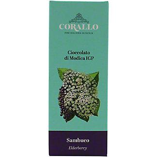 Corallo Sambuco ElderberryModica Chocolate, 1.76 oz