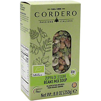 Cordero Organic Beans Mix Soup, 8.8 oz