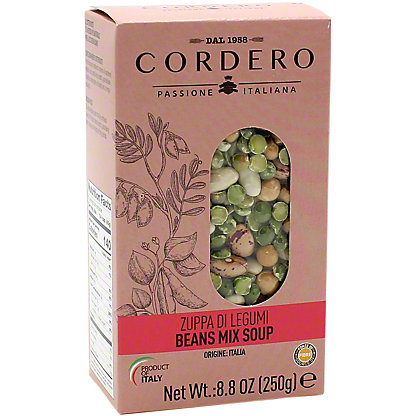 Cordero Beans Mix Soup, 8.8 oz