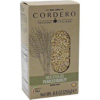 Cordero Pearled Barley, 8.8 oz
