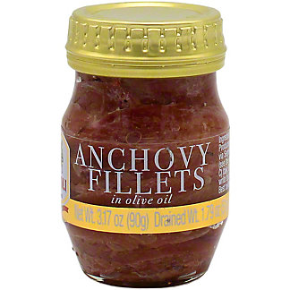 Rizzoli Anchovy Fillets In Olive Oil , 3.17 oz